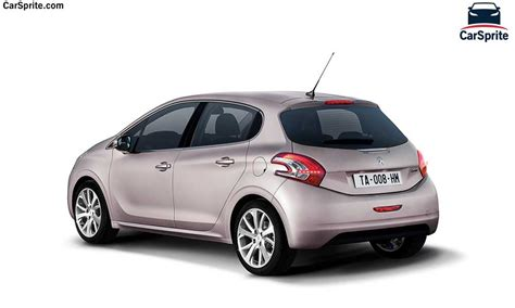 peugeot jeep 2016 price peugeot 208 2017 prices and specifications in car