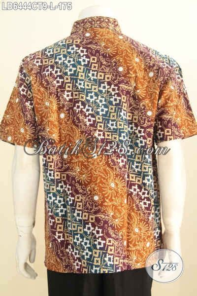 Baju Pria Pakaian Busana Kemeja Pendek Motif Batik Murah 11 kemeja batik keren halus motif kombinasi pakaian batik lengan pendek istimewa untuk pria