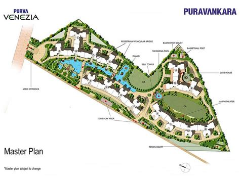 Fairmont Floor Plan by Floor Plans Purva Venezia Yelehanka