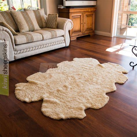 shaped rugs shaped curly wool rug real sheepskin rugs kiwi sheepskins
