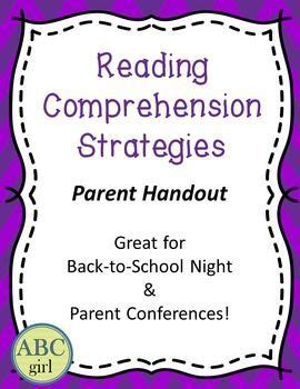 Parent Letter Reading Strategies 1000 images about freebies on tpt on