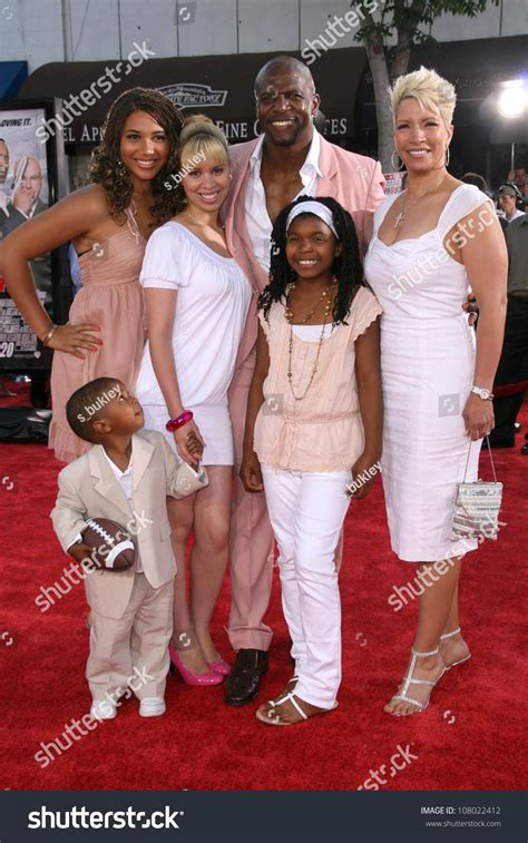 terry crews get smart terry crews family world premiere get stock photo