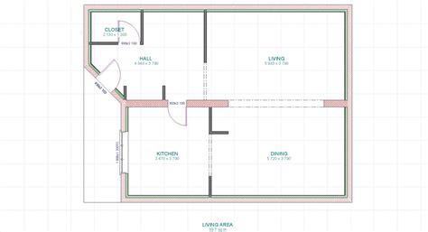 les chambres de la maison cuisine plan maison contemporaine basse consommation
