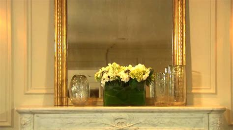how to style your fireplace mantel part 1