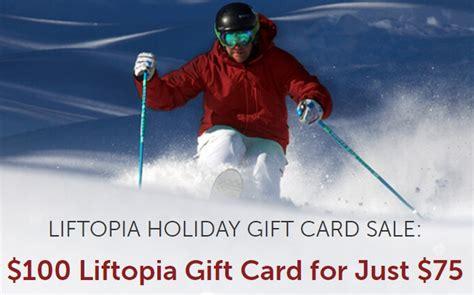 Liftopia Gift Card - ski bum ski areas and resort news very complete