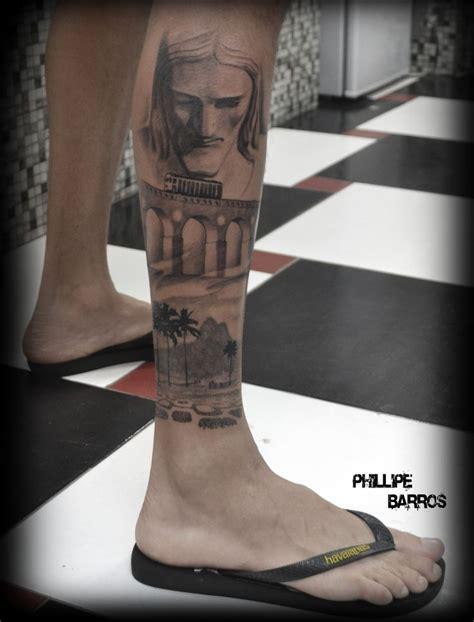 brazil jesus tattoo rio de janeiro cristo redentor por phillipe barros