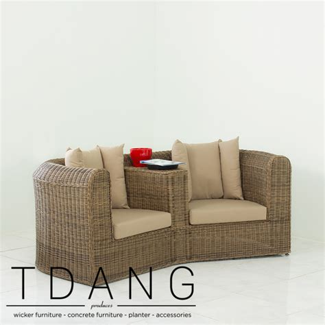 wicker loveseats why should choose vietnam wicker sofas loveseats at tdang