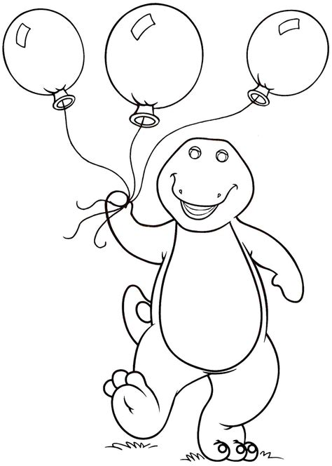 barney coloring pages for toddlers barney and friends coloring pages on coloring book 18721