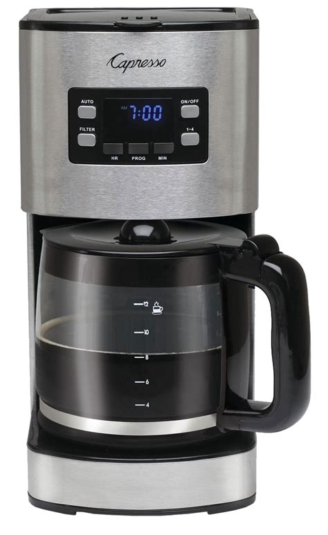 capresso stainless  cup coffee maker