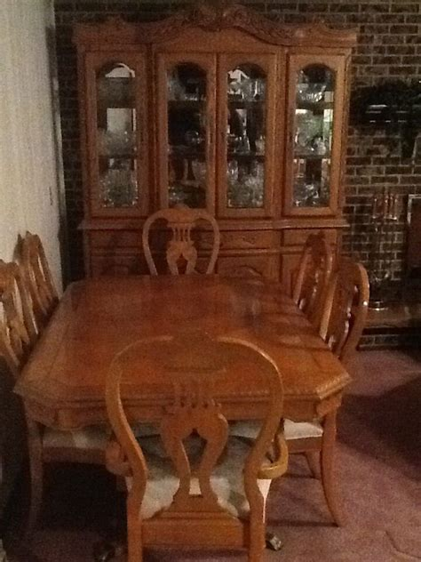formal dining room table  china cabinet ebay