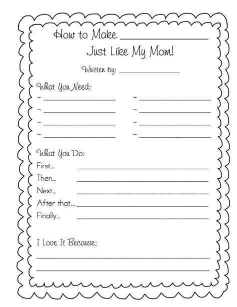 preschool cookie recipe card template so i can t be the only grade 1 who dreads s