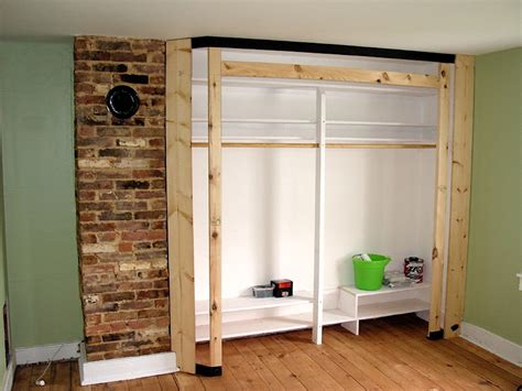 How To Build Built In Wardrobe by G Built In Closet Framing Project Dragonfly Duaine