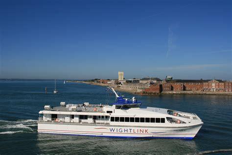 wightlink catamaran ferry business wightlink isle of wight ferries portsmouth ryde