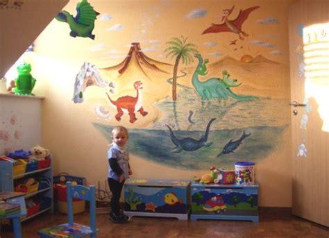 Dinosaurier Kinderzimmer Gestalten by Lebendige Gestaltung Wandmalerei Kinderzimmer