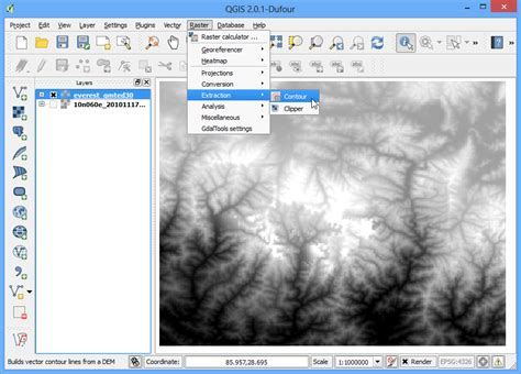 qgis dem tutorial working with terrain data qgis tutorials and tips