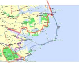 outer banks map the outer banks carolina maps 2016