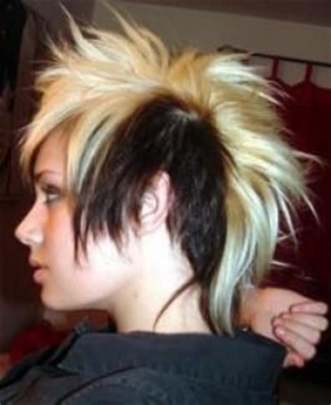 redhead women with spiked mohawk 17 best images about haircuts on pinterest straight red