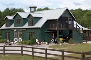 Barnhouse Pole Barn House Plans Post Frame Flexibility