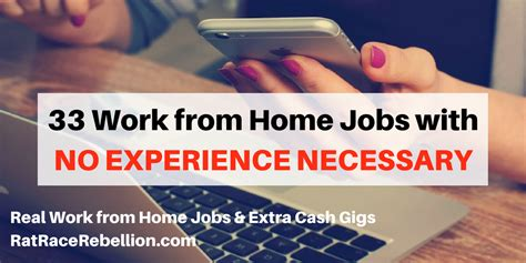 33 work from home with no experience necessary real