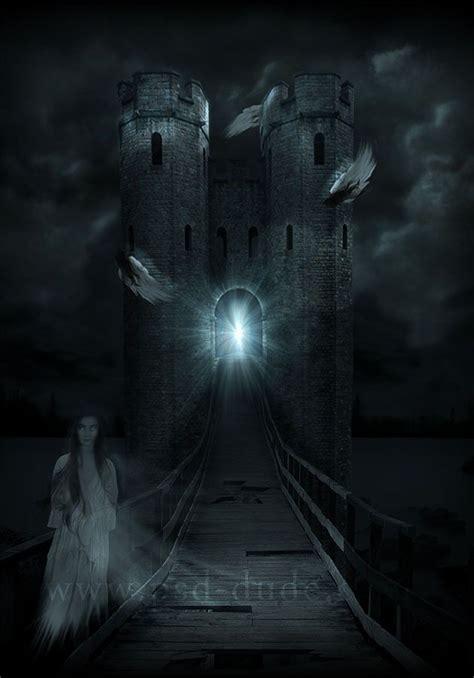 adobe photoshop horror tutorial horror haunted castle photoshop tutorial photoshop