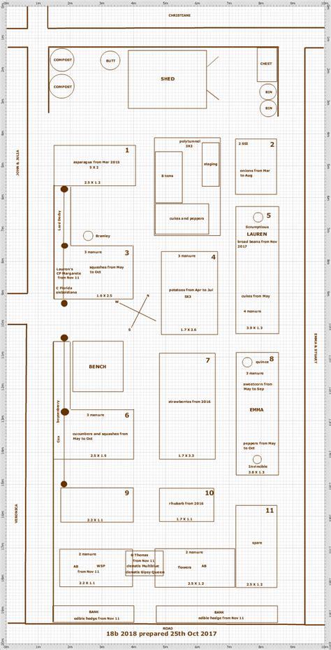 Or Plot 2018 Garden Plan 18b