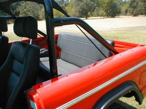 early bronco seats classicbroncos photo gallery rear seat early