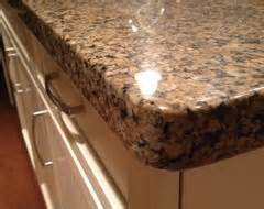 looking for pictures of eased and quarter countertop