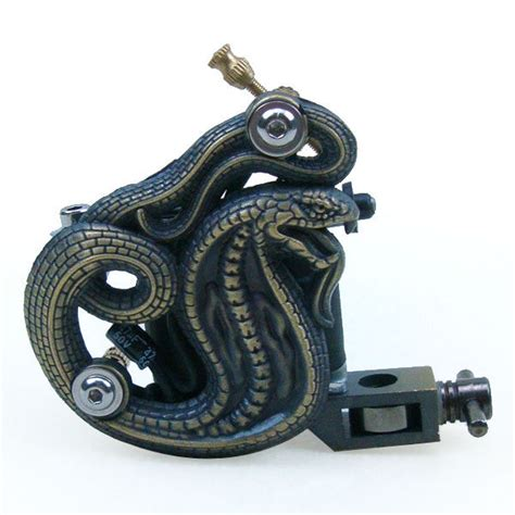tattoo equipment photos winding snake 8 wrap coil dual coiled tattoo machine gun