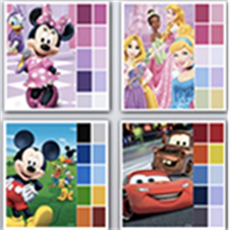 pin disney paint colors on