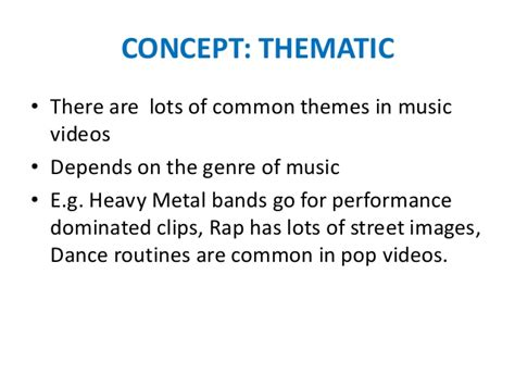 common themes used in film performance concept narrative thematic symbolic