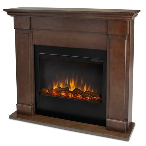 Slim Fireplace by Real Lowry Slim Line Electric Fireplace In Vintage
