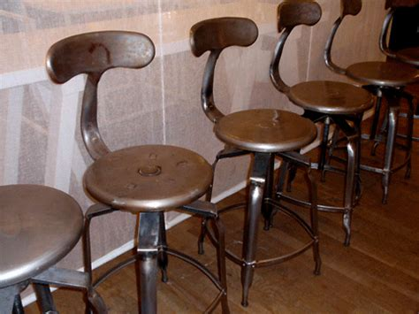 Kitchen Island Bar Stool by Vintage Industrial Bar Stools Hudson Goods Blog