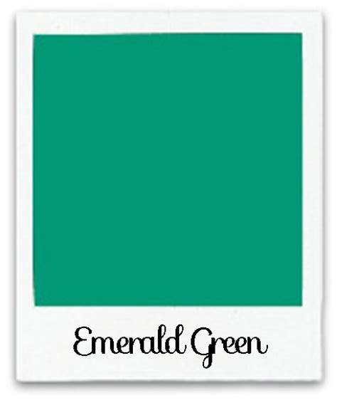 emerald green color color of the year color comparison 2013 the graphics