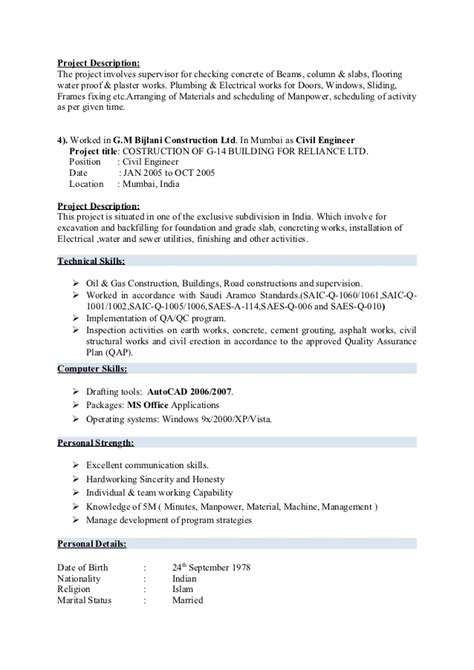 Resume Fixer by Civil Engineer