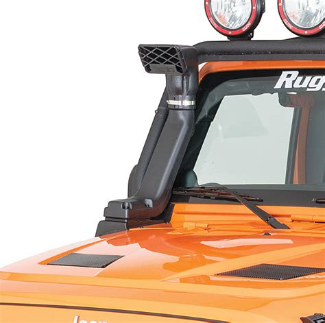 rugged ridge xhd snorkel install rugged ridge 17756 21 modular xhd snorkel kit for 07 17 jeep 174 wrangler wrangler unlimited jk