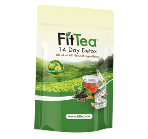 7 Day Green Tea Detox by 14 Day Tea Detox Fit Tea