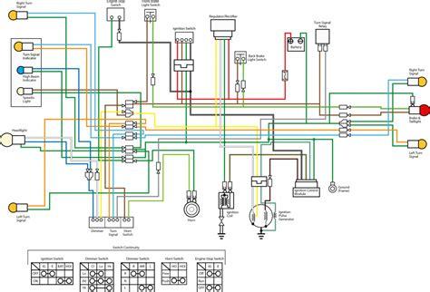 1969 honda mini trail wiring diagram honda auto parts