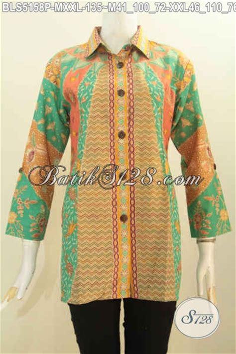 Baju Batik Resmi Elegan batik blus istimewa harga biasa baju batik elegan motif klasik printing model kerah kemeja