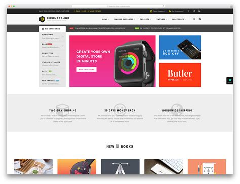 55 Awesome Ecommerce Wordpress Themes 2018 Colorlib E Commerce About Us Template
