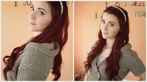 reign hair tutorial queen mary aus reign i frisur tutorial i queenweek youtube