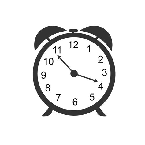 clock layout vector clock clipart silhouette pencil and in color clock