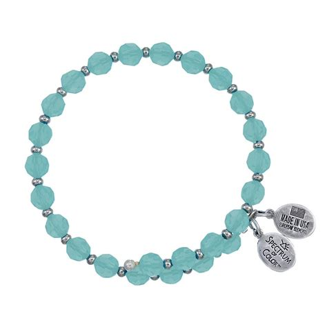 6mm bead bracelet 6mm turquoise with spacer bead wrap bracelet
