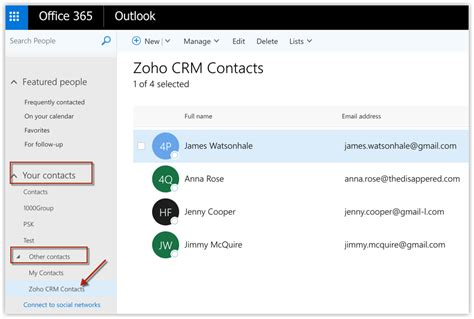 Office 365 Zoho Crm What S New Help Zoho Crm