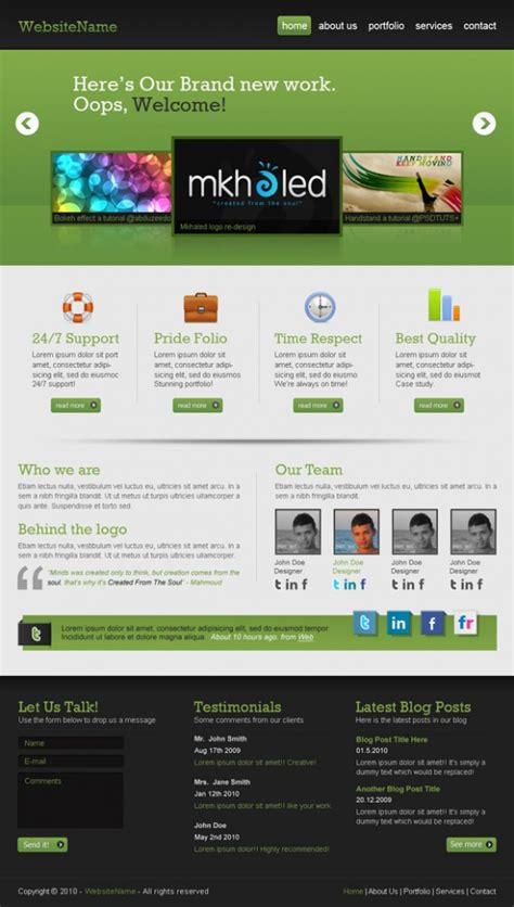 tutorial website design 40 website design layout tutorials that yield professional