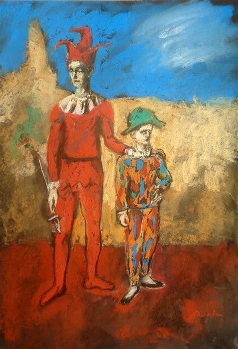 Picasso Study 2 Clowns By Bogdantzigan On Deviantart
