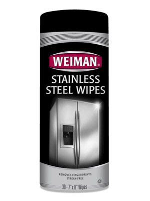 weiman stainless steel wipes top stainless steel cleaners