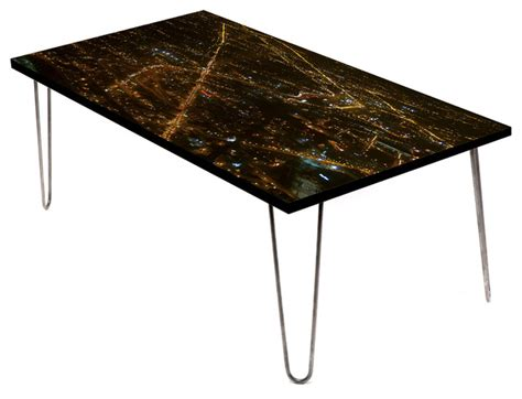 Look West Chicago 24 Quot Coffee Table Contemporary Coffee Coffee Tables Chicago