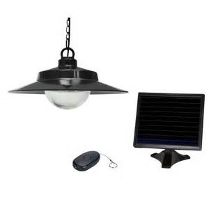 solar pendant light shop sunforce 5 31 in black solar outdoor pendant light at