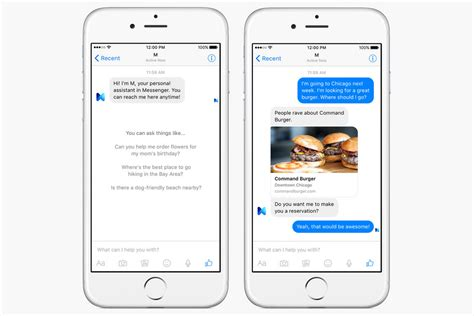 m facebook siri cortana google meet m facebook s messenger based