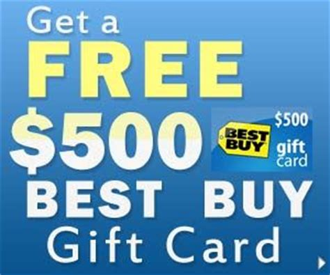 Free Best Buy Gift Cards - free 500 best buy gift card free gift cards pinterest free gifts gift card